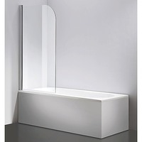 Della Francesca Pivot Glass Shower Door 800x1400mm