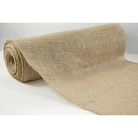 Hessian Burlap Table Runner Decoration 10m Roll