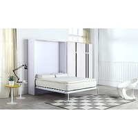 Palermo Double Fold Down Wall Cabinet Murphy Bed