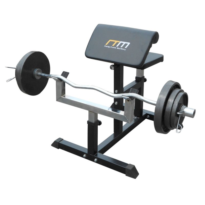 Adjustable Bicep Barbell Curl Weight Bench Buy Weight: bench weights