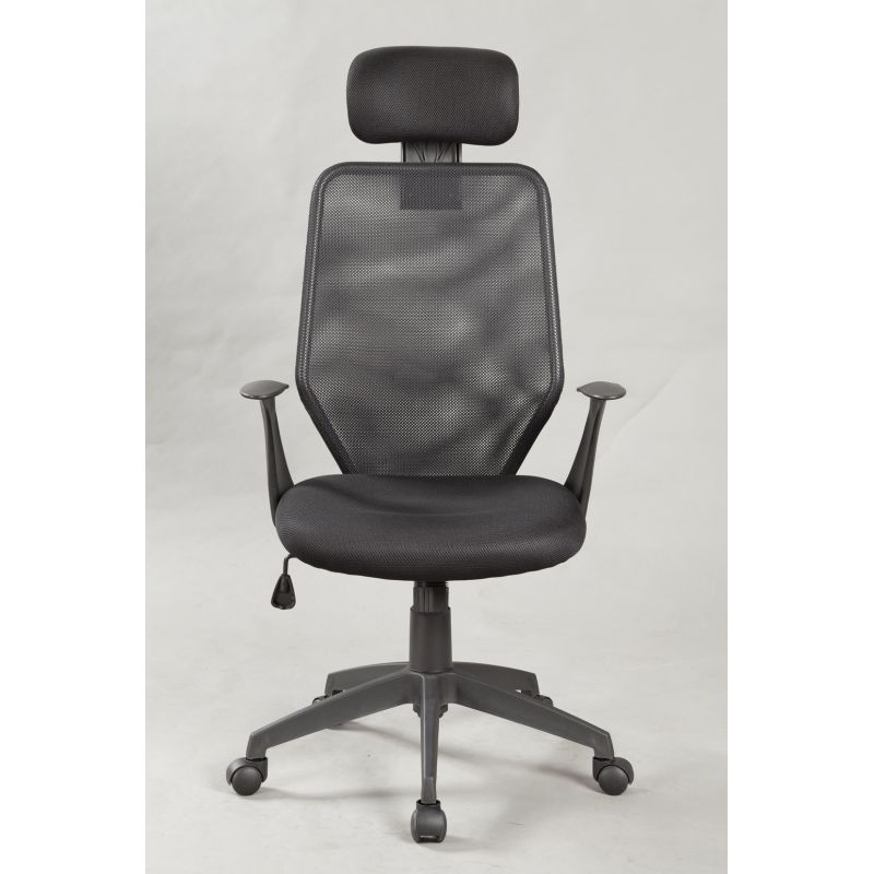 High Back Ergonomic Office Chair With Headrest Buy Black Office Chairs