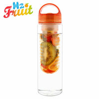 Infuzer Water Bottle Fruit Infusion - Twin Pack