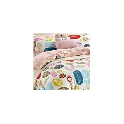 Floral Queen Cotton Doona Quilt Cover Set 250TC