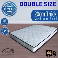 Luxury Pocket Spring Double Mattress 20cm