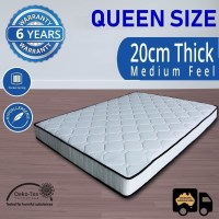 Luxury Pocket Spring Queen Mattress 20cm