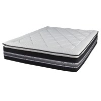 Pocket Spring Queen Mattress Wave Foam Pillow Top