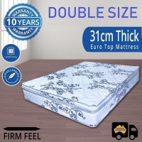 Luxury Double Mattress Pocket Spring and Pillow Top
