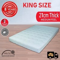 Luxury King Size Springless Memory Foam Mattress
