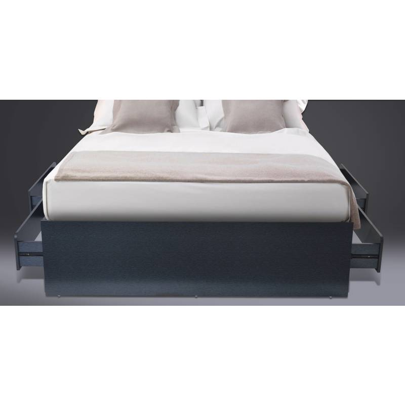 Cradle Black Queen Bed Frame With Storage Drawers Buy