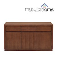 Toronto Buffet Sideboard 3 Drawers and Doors 1.55m