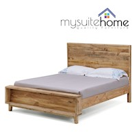Portland King Size Rustic Recycled Timber Bed Frame