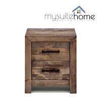 Boston Recycled Timber Wooden Bedside Table Stand