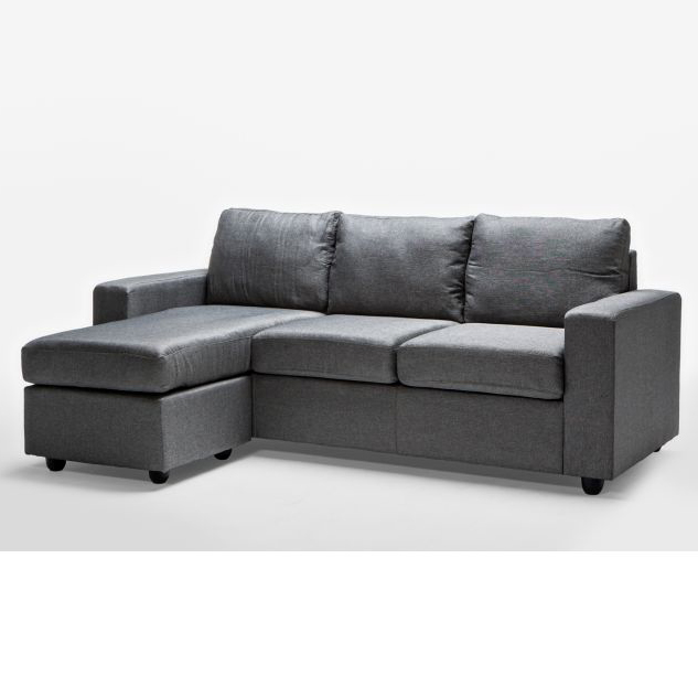 Ella 3 Seater Sofa Couch with Chaise Lounge in Grey Buy  : 62 00202 from www.mydeal.com.au size 633 x 633 jpeg 88kB