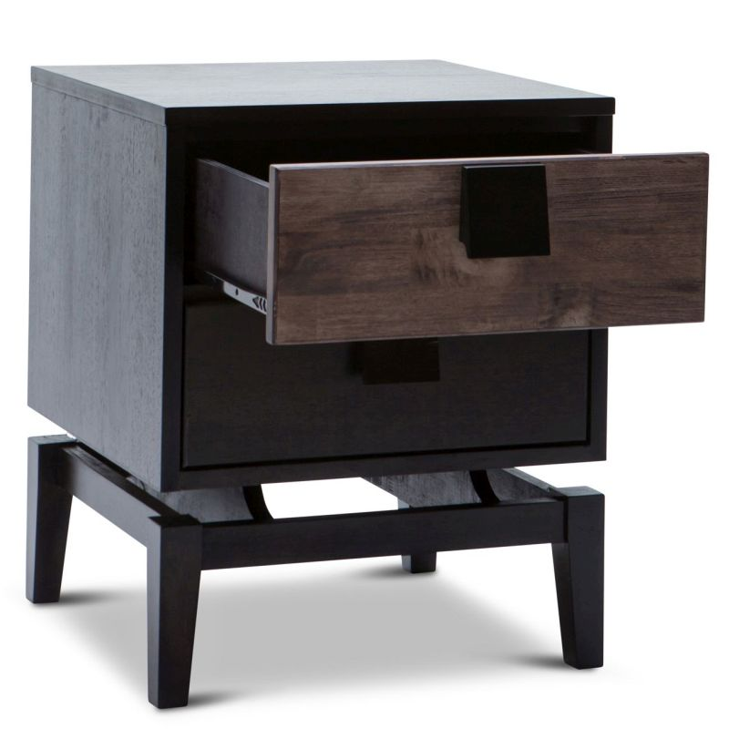 wood unique night stand bedside table buy wooden bedside tables