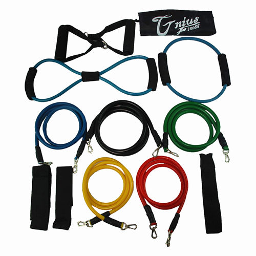 Complete 13pc Resistance Exercise Bands Set