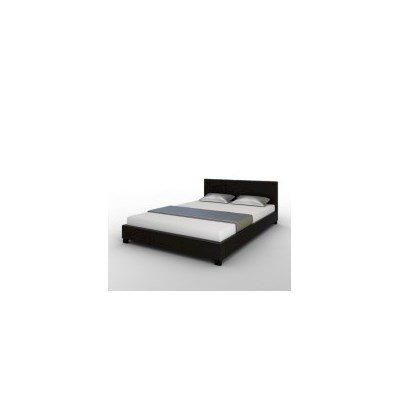 Sheffield Queen Size PU Leather Bed Frame in Black