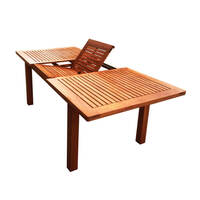 Montague Wooden Extendable Outdoor Dining Table