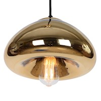 Claudia Pendant Hanging Ceiling Light in Gold