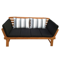 Chatsworth Outdoor Couch DayBed Eucalyptus Hardwood