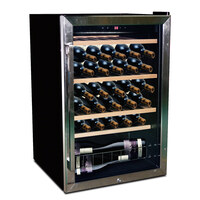 VinoVault Single Zone 45 Bottle Wine Fridge 130L