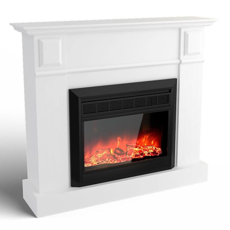Grace Electric Fireplace Heater In White 1600w Buy Electric Fireplaces