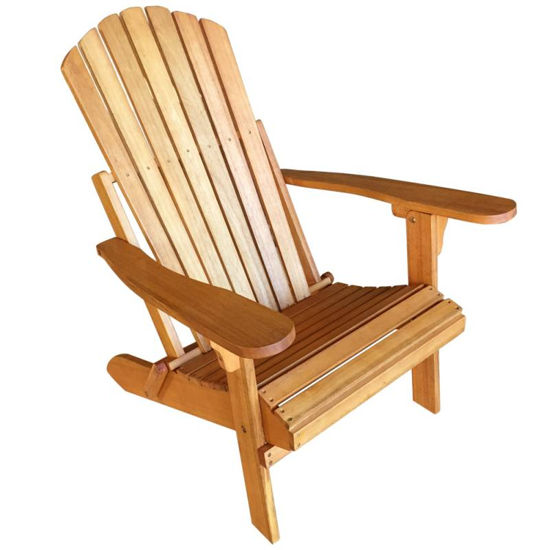 eucalyptus wooden adirondack sun lounge chair buy outdoor chairs. Black Bedroom Furniture Sets. Home Design Ideas