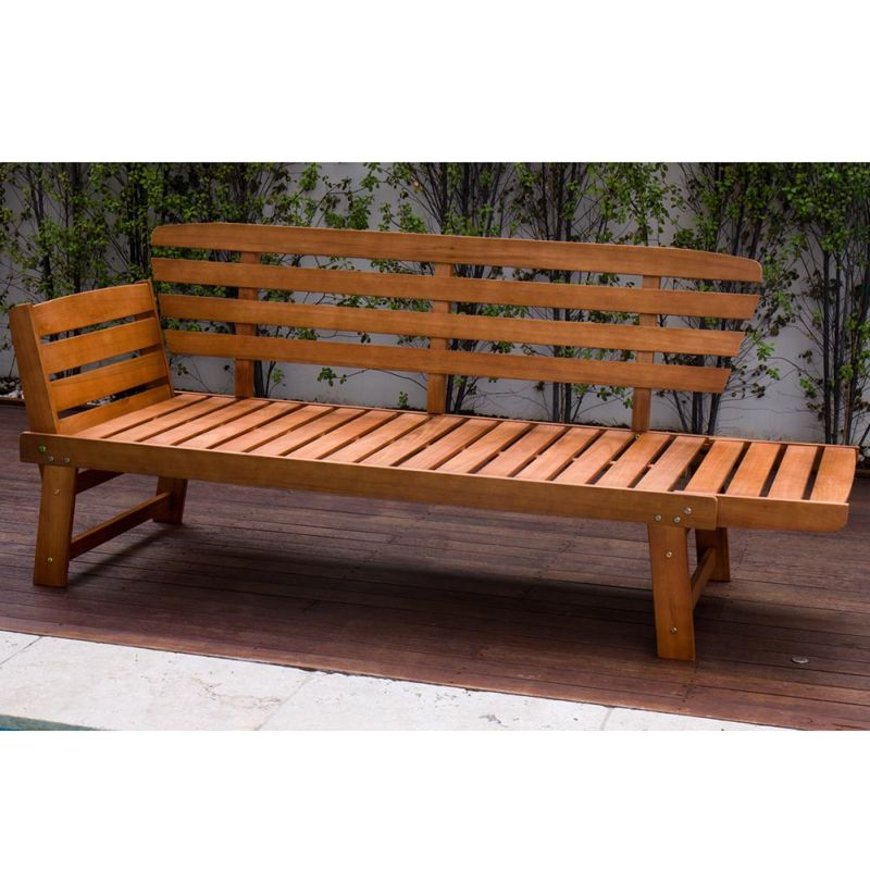 Outdoor Timber Sun Lounge Daybed Bench Seat Buy 30