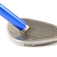 Blue Golf Iron Wedge Groove Sharpener Tool