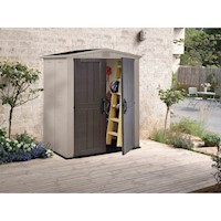 Keter Steel & Plastic Garden Storage Shed 6x3ft