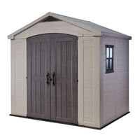 Keter Factor Outdoor Storage Garden Shed 8 x 6ft