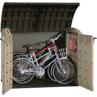 Keter Hydraulic Plastic Outdoor Storage Box Shed