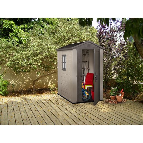 Keter factor outdoor plastic storage shed 4x6ft buy - Outdoor plastic shed storage ...