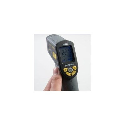 No Contact IR Digital Thermometer & Bag, Wide Range