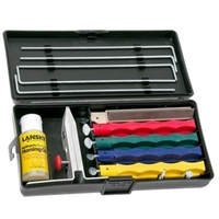 Lansky Deluxe Knife Sharpening System - 5 Hones