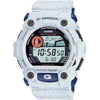 Casio G Shock Men's Watch in White Blue G-7900A-7