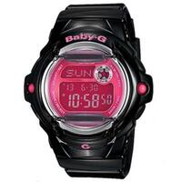 Casio Baby-G Ladies Watch Black/Pink BG-169R-1BDR