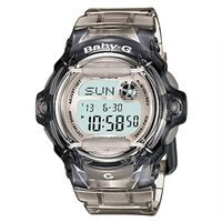 Casio Baby-G Ladies Watch Grey Digital BG-169R-8DR