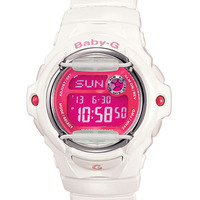 Casio Baby-G Ladies Watch White/Pink BG-169R-7DDR