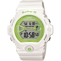 Casio Baby-G Ladies Watch White/Lime BG-6903-7ER