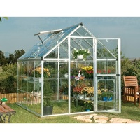 Maze 6' x 8' Clear Polycarbonate Greenhouse