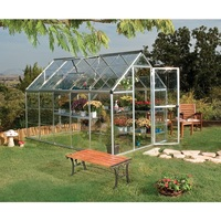 Maze 6' x 10' Clear Polycarbonate Greenhouse