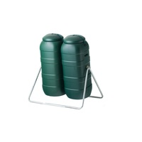 Twin 200L Slim and Narrow Compost Tumblers