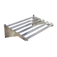 Greenhouse Heavy-Duty Shelf with Brackets + Screws