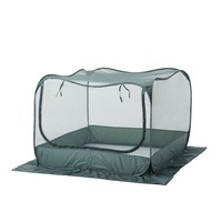 95cm Tall Pop Up Garden Netting with Rods and Pegs