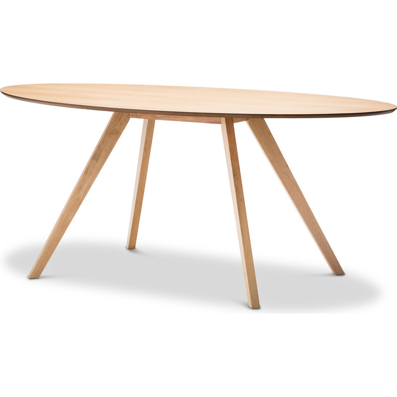 Scandinavian Oval Wooden Dining Table in Oak 1800mm Buy  : 41 05402 from mydeal.com.au size 800 x 800 jpeg 91kB