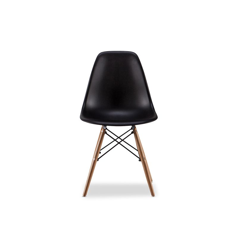 Replica eames dsw side chair black set of 4 buy eames for Dsw chair replica