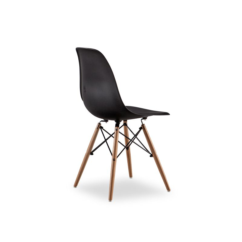 Replica eames dsw side chair black set of 4 buy eames for Eames dsw replica deutschland