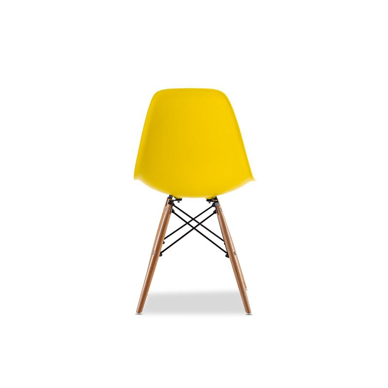 Replica Eames DSW Side Chair Yellow Set Of 4 Buy Eames Dining Chairs