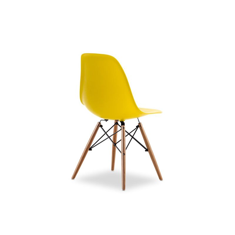 Replica eames dsw side chair yellow set of 6 buy eames for Reproduction eames dsw