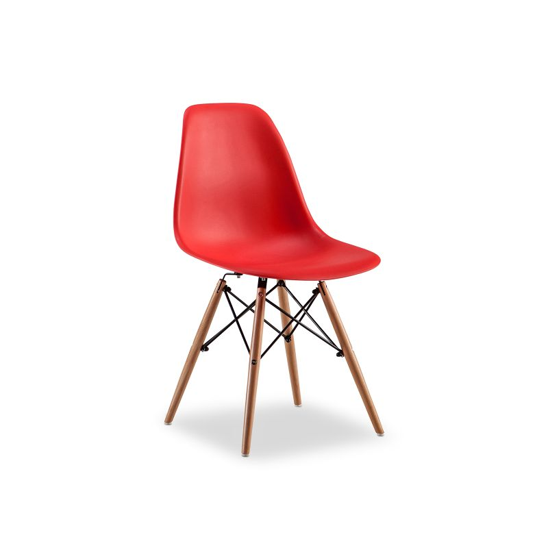 Replica eames dsw side chair red set of 4 buy eames for Reproduction eames dsw